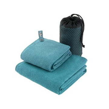 wholesale printed sports towel with pocket