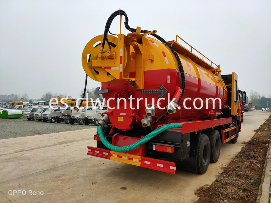 sewage vacuum truck supplier
