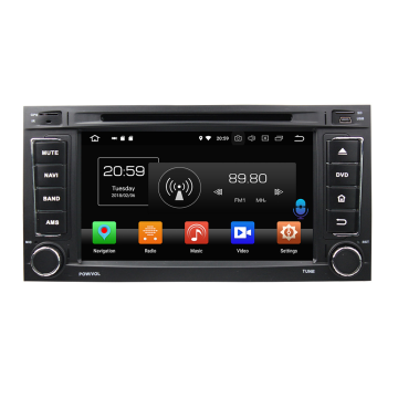 car radio with gps for Touareg 2002-2010