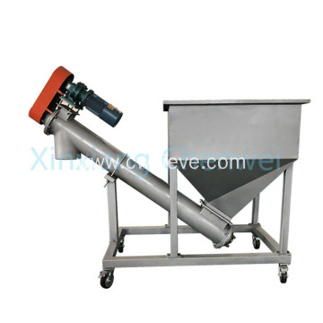 Auger screw conveyor equipment for fertilizer