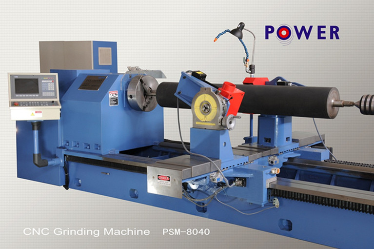 PSM-8040 CNC Rubber Roller Grooving Machine China Manufacturer
