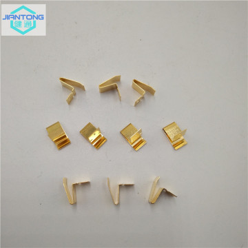 custom stamping battery contacts with gold plating