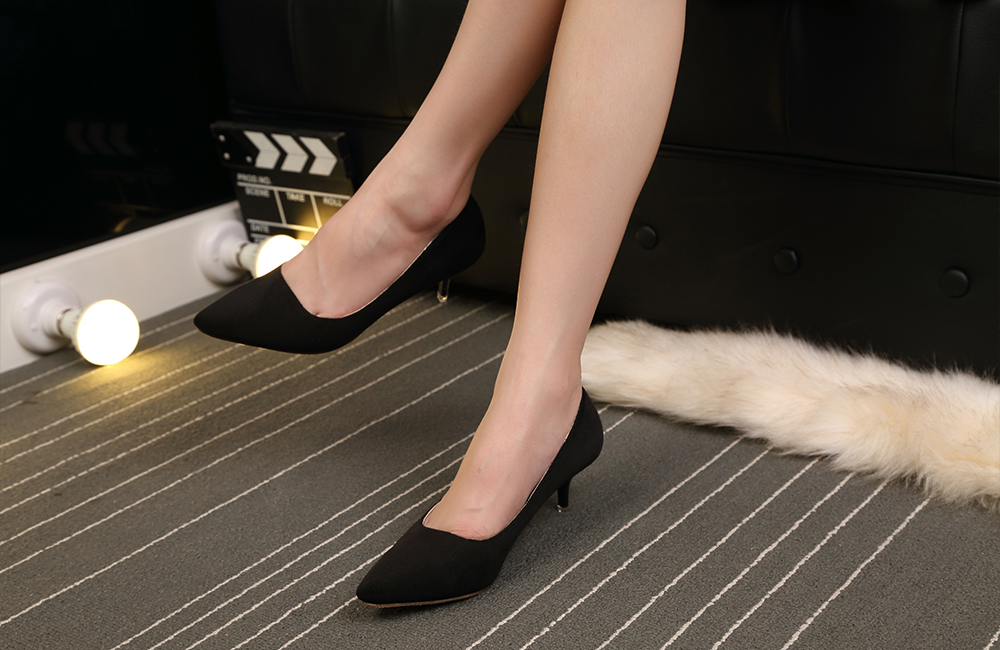 Women Suede Leather Shoes