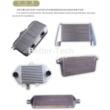 Goods high definition for Auto Engine Oil Cooler Auto Universal Front Mount Intercooler supply to Samoa Manufacturer
