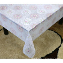 dunelm Printed pvc lace tablecloth by roll
