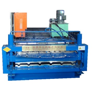 Trapezoid and Corrugated Double Layer Roll Forming Machine