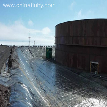 Geomembrane with 800% enlongation