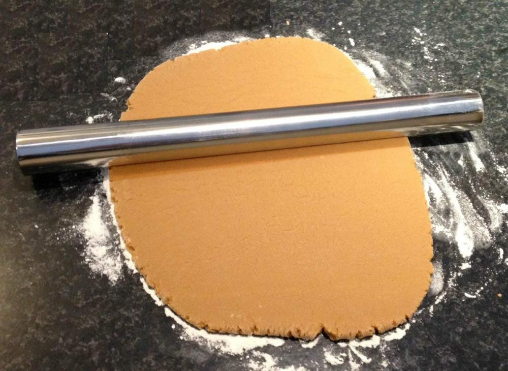 Stainless Steel Metal Rolling Pin for Baking Cookie