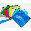 Fire Resistant Tarpaulin Low Price Blue Color