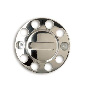 Car Vehicle Stainless Steel Front Axle Hub Caps