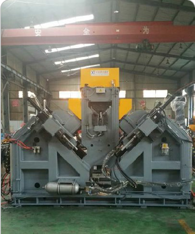 High speed angle steel drilling machine