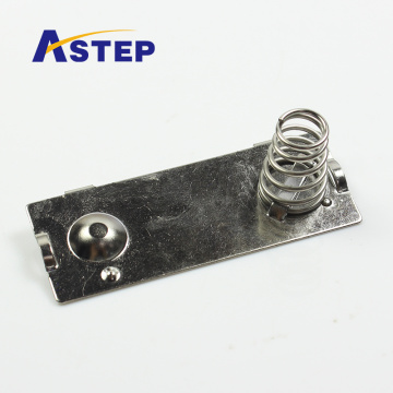 Customized metal battery spring plate