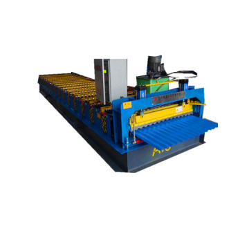CE ISO Corrugated roofing roll forming machine