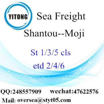 Shantou Port LCL Consolidation To Moji