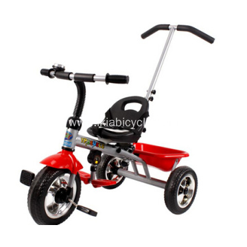 Kids Push Tricycle with Canopy