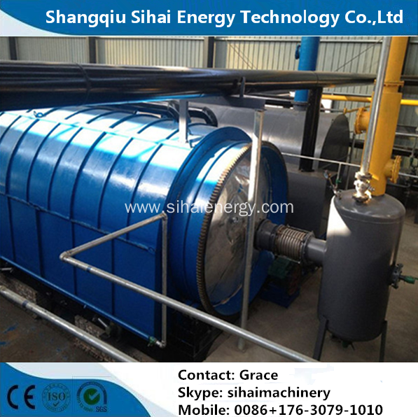 Batch Type Waste To Energy Machine With CE