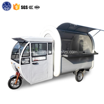 3 wheels bike food cart