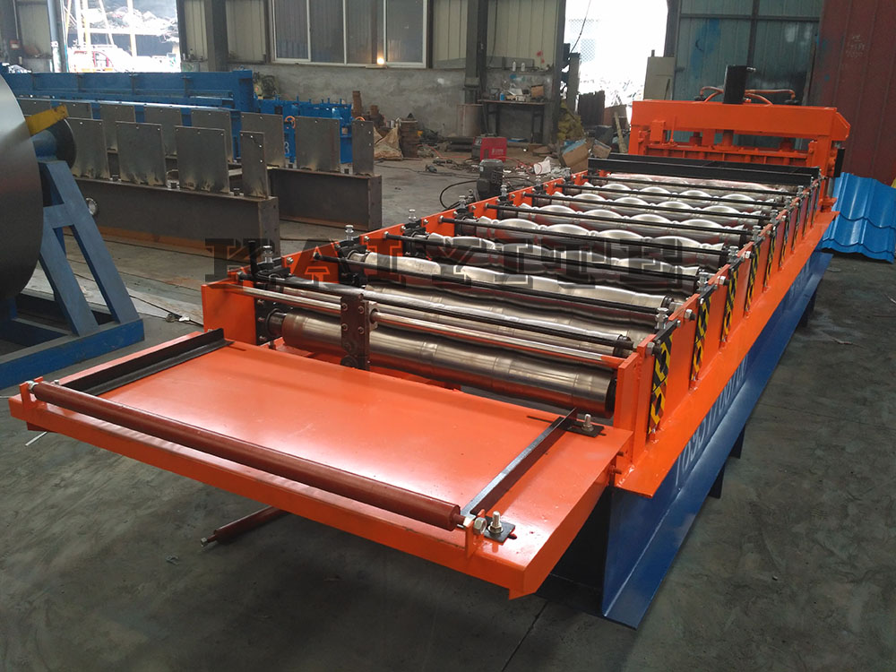 roof glazed roll forming machine