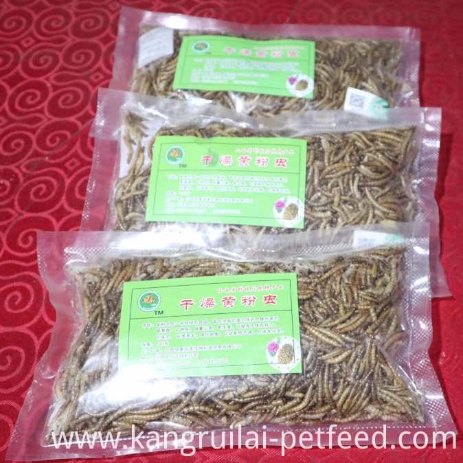 Dried Mealworm Animal Feed