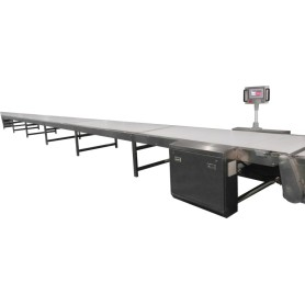 Cooling conveyor for biscuit production line