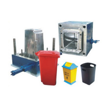 Hot Sale for Plastic Crate Making Machine Outdoor large and small garbage bin plastic mould export to Lesotho Factory
