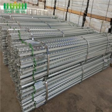 Decorative wholesale cheap galvanized metal fence t posts
