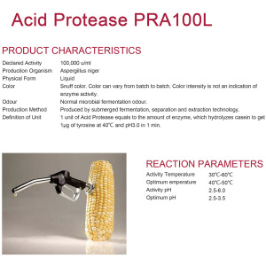 Acid Protease for alcohol