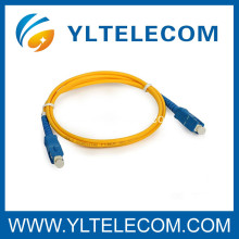 PC UPC APC Singlemode 9/125 Fiber Optic Patch Cord 1 / 2 / 3 Meter Or Customized