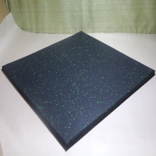 recycled gym rubber  flooring exercise tiles