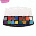 Colorful party supplies body face painting adhesive stencil
