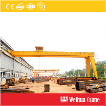 Double Girder Semi-Gantry Crane