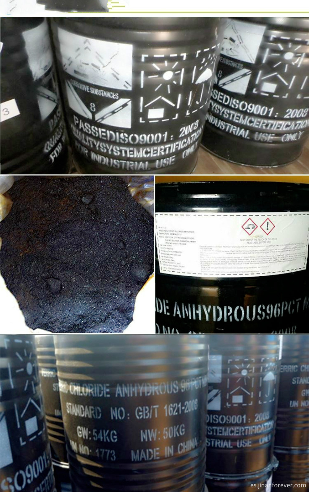 Ferric-Chloride-Anhydrous-98-Ferric-Chloride-Powder-Export China-Supply