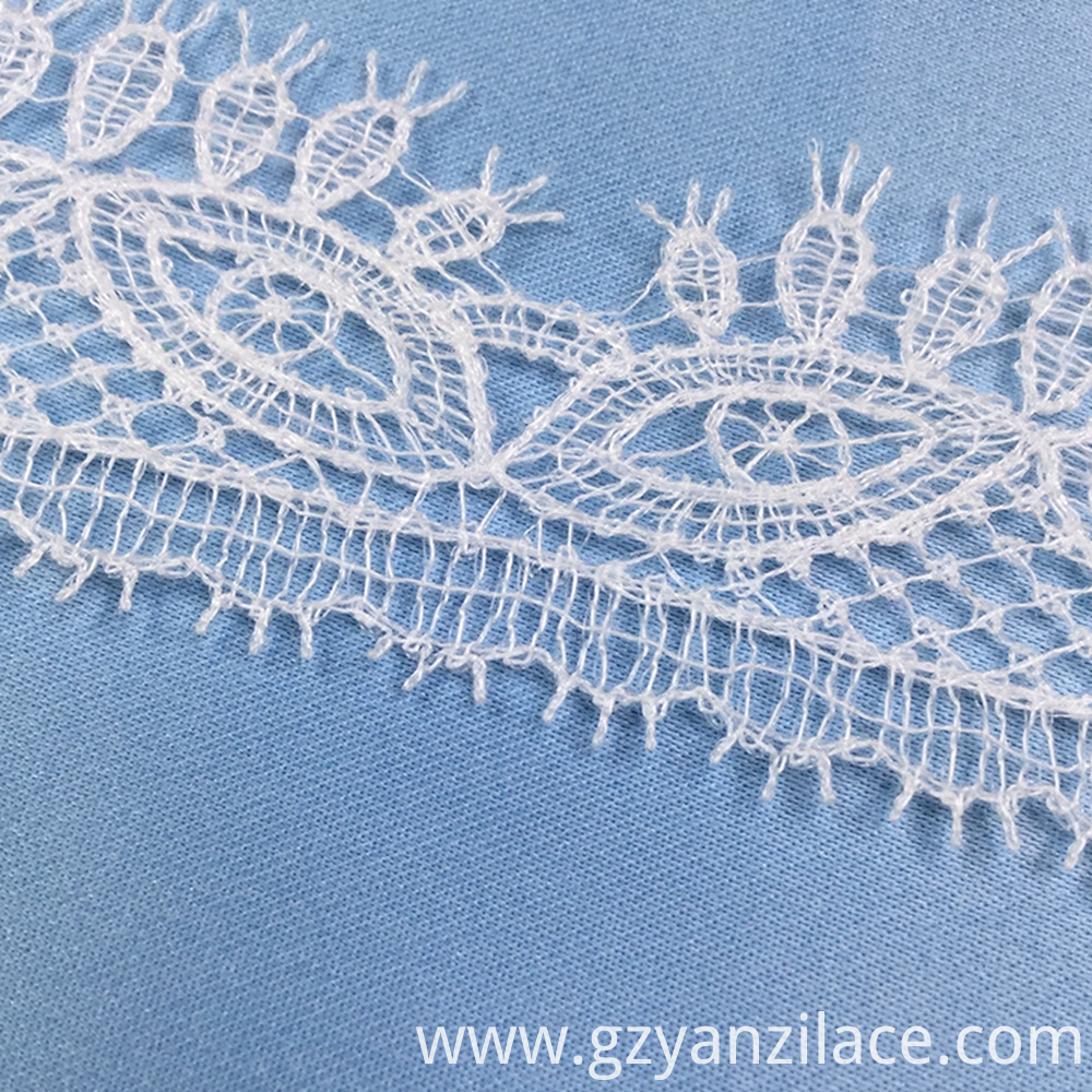 Lace Trim Fabric Yard