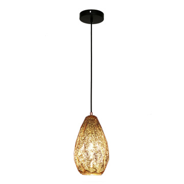 Mini Pendant Light Indoor Glass Shade Hanging Lamp