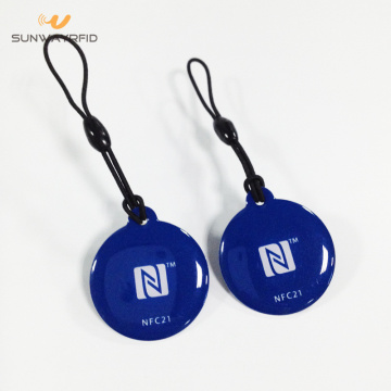 30mm PVC RFID Tags with epoxy