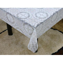 Printed pvc lace tablecloth by roll at target