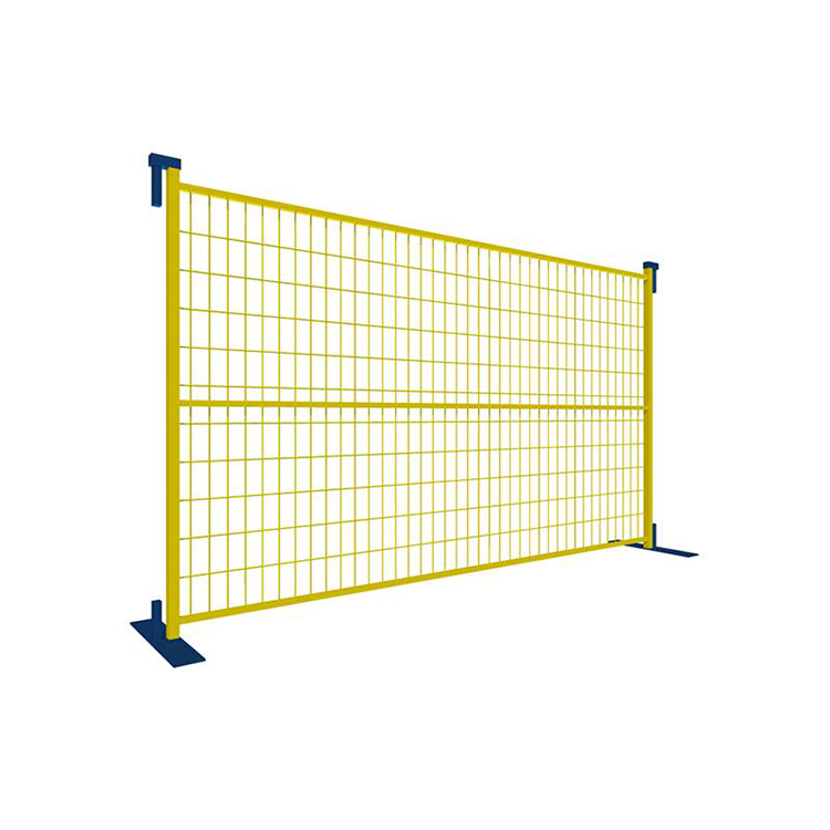 Canada Powder Coated Temporary Fence for Construction