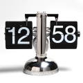 Small Desk Decoration Battery Operated Table Flip Clock