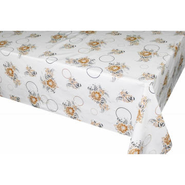 Square Vinyl Tablecloth with Non woven backing