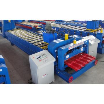 Philippines style Glazed Steel Tile Roll Forming Machine
