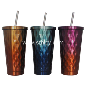 High Quality Stainless Steel Straw Cup