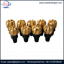 Bottom price for Steel Body PDC Drill Bit non-coring pdc bits for water well drilling supply to Romania Factory