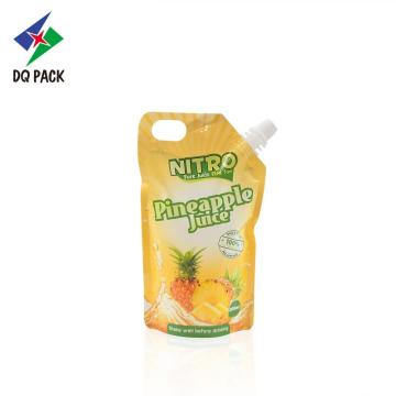Lquid packaging stand up pouch juice sachet