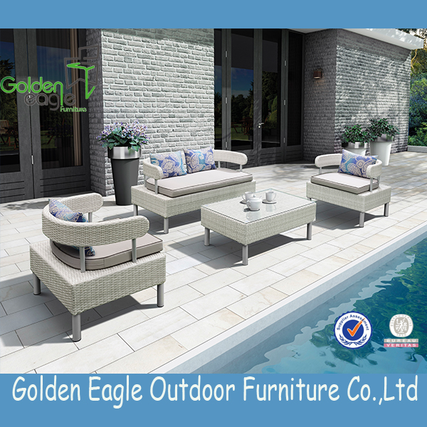 Aluminium Tube Patio Furniture Wicker