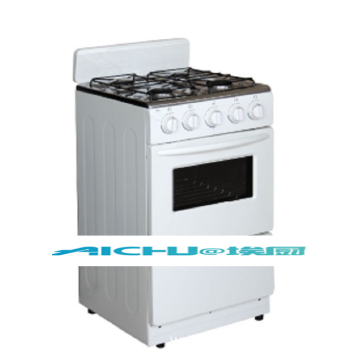 Full White Color Gas Oven