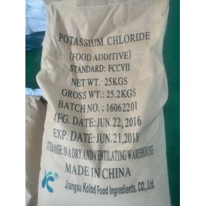 60mesh super fine potassium chloride powder food additive