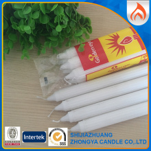 Personlized Products for Offer 6Pcs Packing White Candle,White Fluted Candle,Home Decoration White Candle From China Manufacturer South Africa Best Price Candles Velas supply to Panama Importers