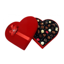 Heart Shape Cardboard Chocolate Gift Paper Box