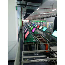 100% Original Factory for Speed Chain Conveyor Systems,Chain Conveyor System,Speed Chain Conveyor Manufacturers and Suppliers in China SKD TV Assembly Line with Aging Line supply to Poland Manufacturers