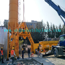 Popular Design for 25 Concrete Plant 25 No Foundation Concrete Batching Plant supply to Indonesia Factory
